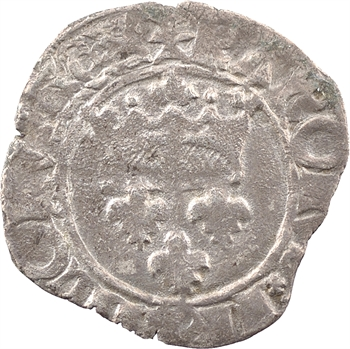 Duc de Bourgogne (au nom de Charles VI), florette 4e émission, avril 1419, Troyes