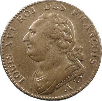 Constitution, 12 deniers FRANÇOIS, An 3, 1791 Paris