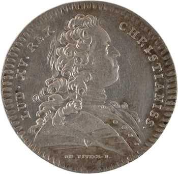 Louis XV, Normandie, la ville de Rouen, par Duvivier, s.d. Paris