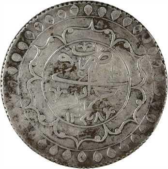 Algérie, Mahmud II, 2 budju, AH 1238 (1822)