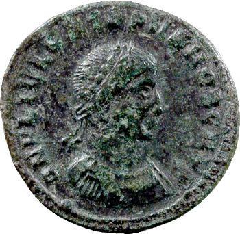 Crispus, nummus, Thessalonique, 318-319
