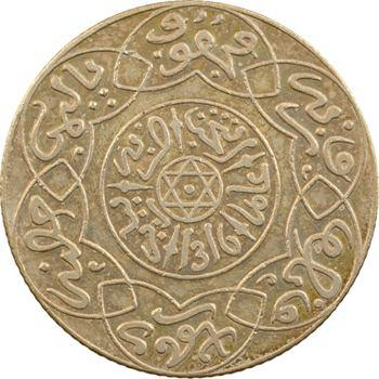 Maroc, Abdül Aziz I, 2 1/2 dirhams, AH 1316 (1898) Paris