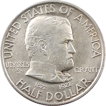 États-Unis, demi-dollar, centenaire de la naissance de Grant, 1922 Philadelphie