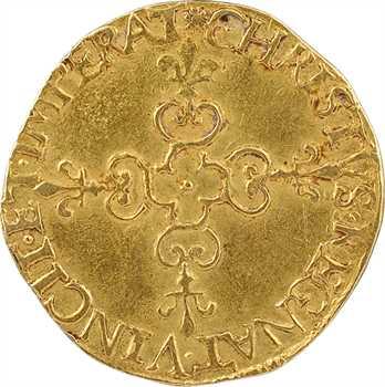 Henri III, écu d'or au soleil 3e type, 1578 [Bordeaux ?]