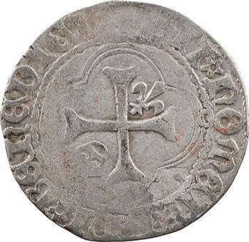 Charles VII, petit blanc à la couronne, 4e émission, Toulouse
