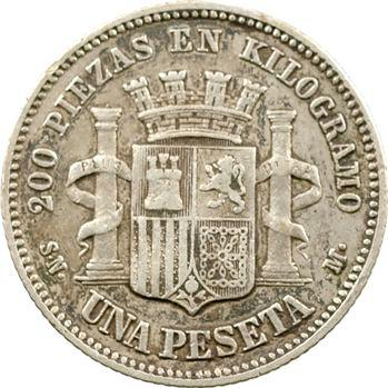 Espagne (Gouvernement provisoire), 1 peseta, 1869 Madrid