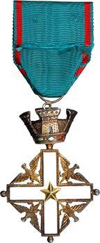 Italie, Ordre du Mérite de la République, avec sa réduction