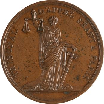 Constitution, Tribunal d'Appel séant à Paris, par Gatteaux, s.d. Paris