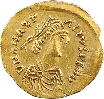 Ostrogoths, Théodoric, au nom d'Anastase, trémissis, Rome ? c.500-518