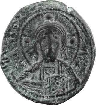 Nicéphore III ou fin XIe s., follis anonyme, classe I, Constantinople, s.d. (c.1078-1081)