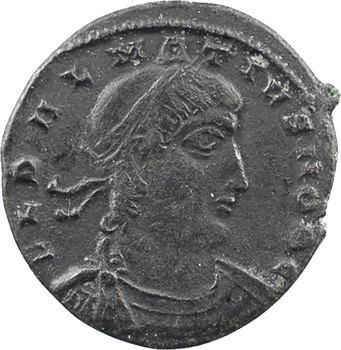 Delmace, nummus, Thessalonique, 2e officine, 335-336