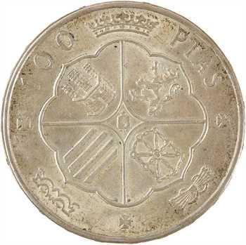 Espagne, Franco, 100 pesetas, 1966 (19-68)