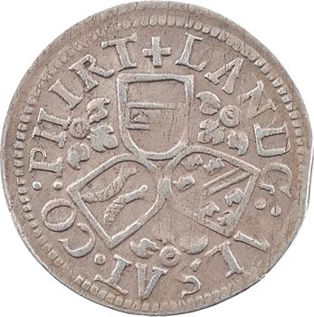 Alsace (landgraviat d'), Ferdinand archiduc, pièce de 3 kreuzers, s.d. Ensisheim