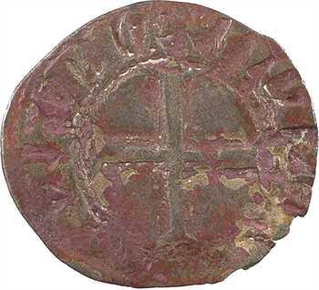 Bretagne (duché de), Jean IV, double tournois, s.d. (après 1385) Rennes ?