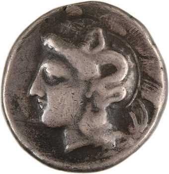 Lucanie, Vélia, didrachme, c.300-280 av. J.-C
