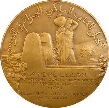 Algérie, André Lebon, Crédit foncier d'Algérie, 1928 Paris