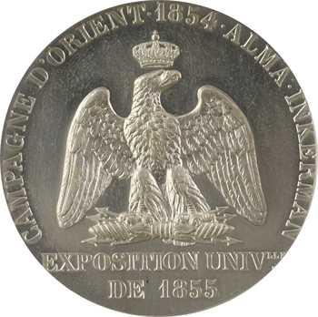 Russie / Crimée, la Campagne d'Orient et les batailles d'Alma et d'Inkerman, le Prince Napoléon commandant de la 3e division, 1855 Paris, PCGS SP64