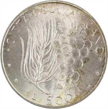 Vatican, Paul VI, 500 lire, 1974 (An XII) Rome
