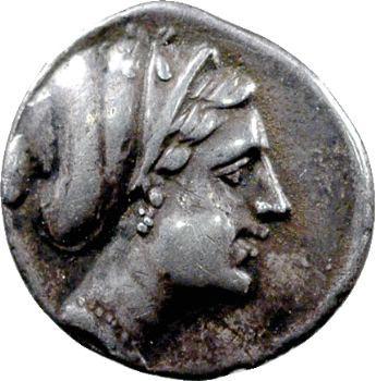 Corinthe, drachme, IVe s. av. J.-C.
