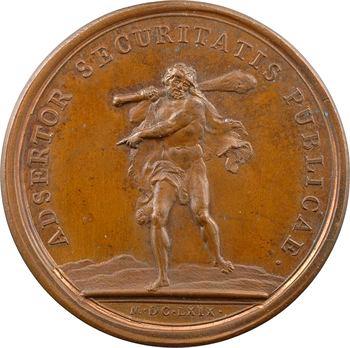 Louis XIV, rétablissement de la sécurité dans le royaume, 1669 Paris