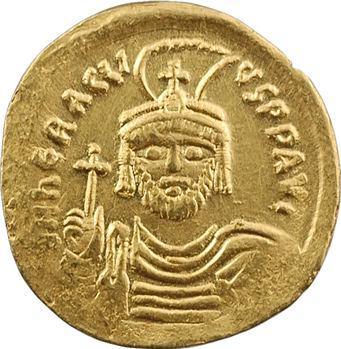 Héraclius, solidus de poids léger, Constantinople, 10e officine, 610-613