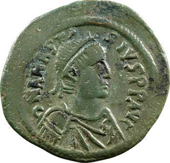 Anastase, follis, Constantinople, 491-518