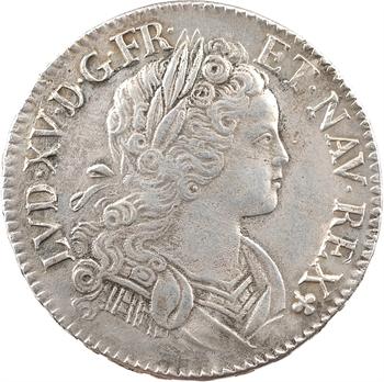 Louis XV, écu de Navarre, 1718 Paris