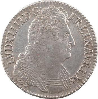 Louis XIV, demi-écu aux trois couronnes, 1711 Paris