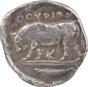 Lucanie, Thurium, statère, c.443-400 av. J.-C.