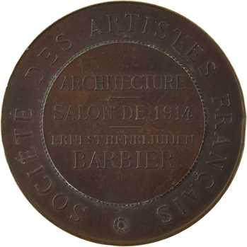 Daniel-Dupuis (J.-B.) : Société des Artistes Français, salon de 1914 (architecture), Paris