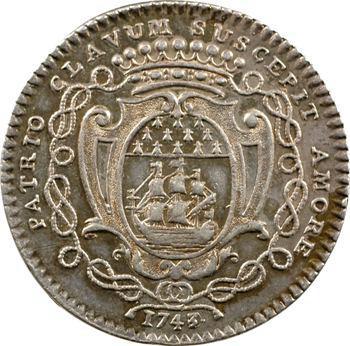 Bretagne, Nantes (mairie de), René Darquistade, maire, 1743