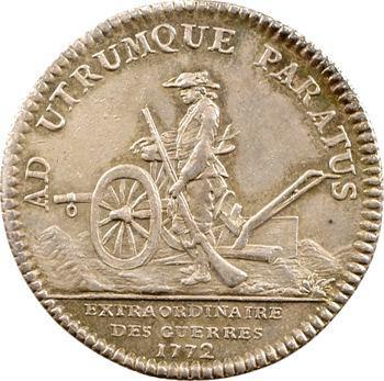 Extraordinaire des guerres, Louis XV, 1772
