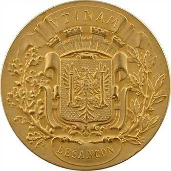 IIIe République, Caisse d'épargne et de prévoyance de Besançon, médaille d'or, 1835 (post.) Paris