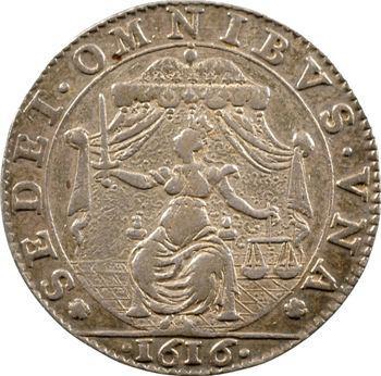 Bourgogne, Dijon (ville de), service des comptes, 1616