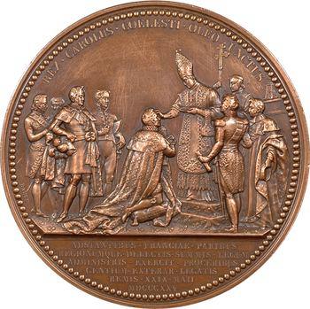 Charles X, médaille du sacre à Reims, 1825 Paris
