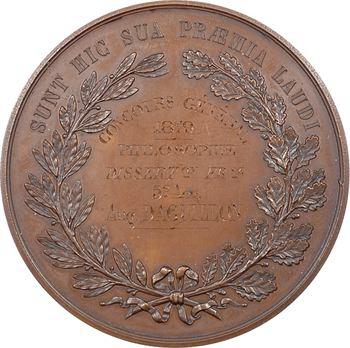IIIe République, le lycée Henri IV (récompense), par Caqué, 1879 Paris