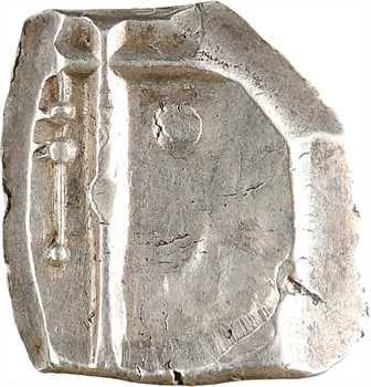Cadurques, drachme aux motifs géométriques et triskèle, c.IIe-Ier s. av. J.-C