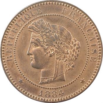 IIIe République, 10 centimes Cérès, 1884 Paris