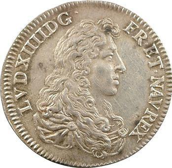 Louis XIV, refrappe postérieure, 1667 (1860-1879)