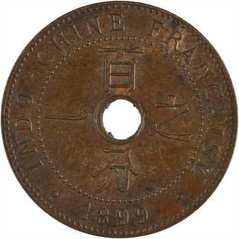 Indochine, 1 centième, 1899 Paris