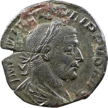 Philippe Ier, sesterce, Rome, 244