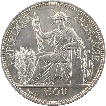 Indochine, 1 piastre, 1900 Paris