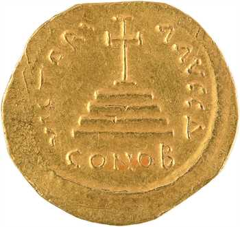 Tibère II Constantin, solidus, Constantinople, 4e officine, 578-582