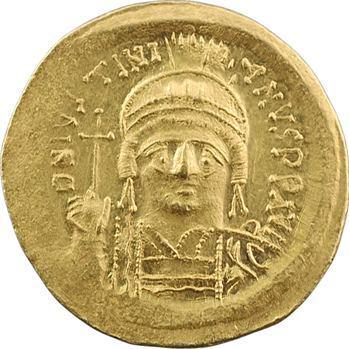 Justinien Ier, solidus, Constantinople, 5e officine, 527-565