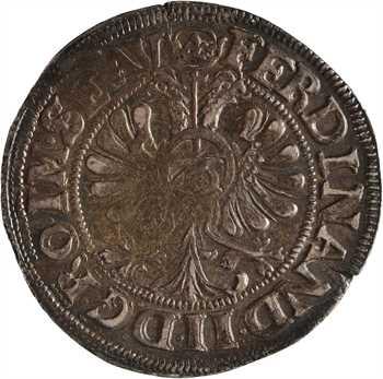 Allemagne, Lübeck (évêché de), 1/2 thaler de 16 schilling, 1622 Lübeck