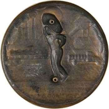 Lauriot (C.) : Cinquantenaire de la C.N.D.A.L. (transport de charbon), fonte, 1895-1945