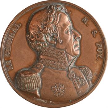 Charles X, mort du général Foy, 1825 Paris