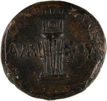 Pont, Amisos, bronze AE21, époque de Mithradates VI, c.125-100 av. J.-C