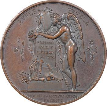 Louis XVIII, mort du duc de Berry, par Gayrard, 1820 Paris