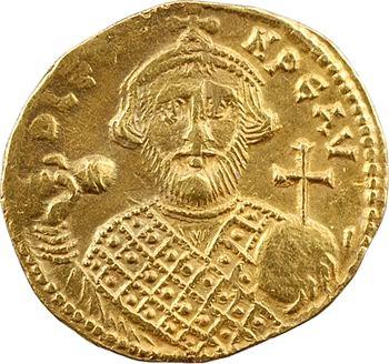 Léonce ou Léontius, solidus, Constantinople, 2e officine, 695-698